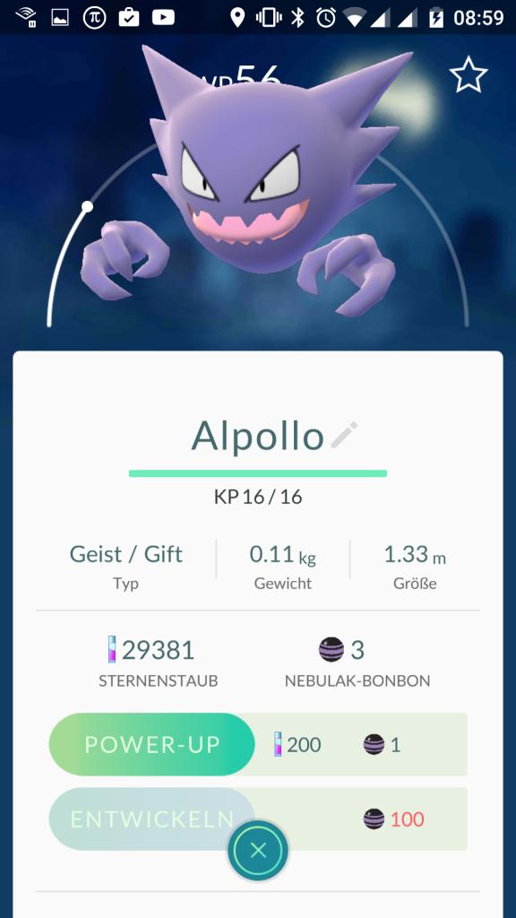 Pokemon Go - Alpollo